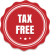 Tax-Free-Badge